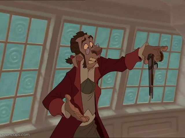 What was the name of the doctor in Treasure Planet?