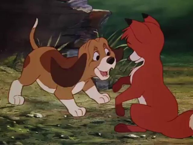 What's the name of the hound dog in Fox and the Hound?