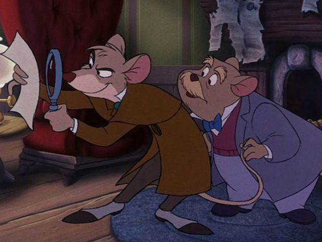 What was the name of the great mouse detective?