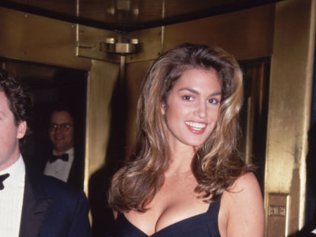 Cindy Crawford stunned crowds at this Vogue event in 1998, showing the Little black dress had gotten tighter and sexier.