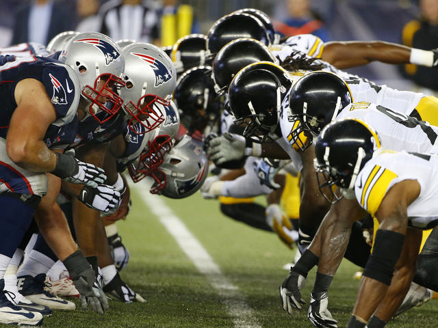 The Patriots are 5-4 in the Super Bowl, while the Steelers have a 6-2 record.