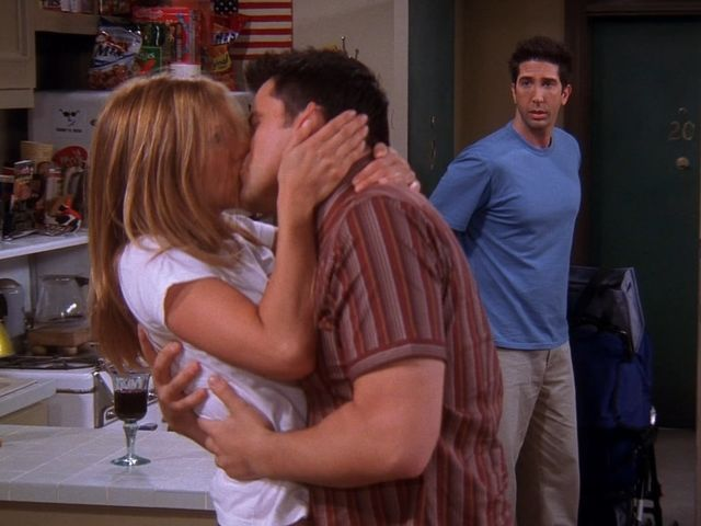 Which members of the gang has Joey made out with?
