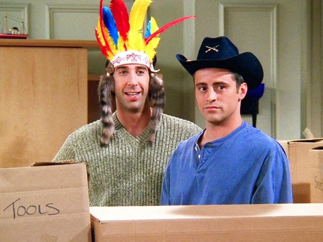 When talking to Ross in The Pilot, to what item does Joey compare women to?