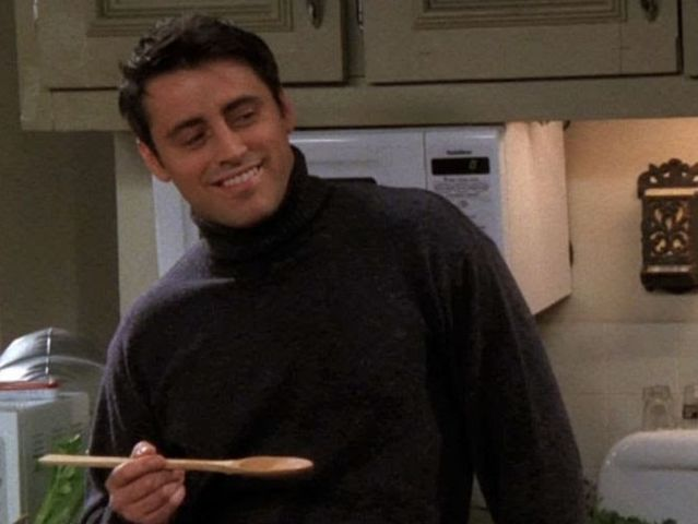 "In which season did Joey use ""How you doin'"" for the first time?"