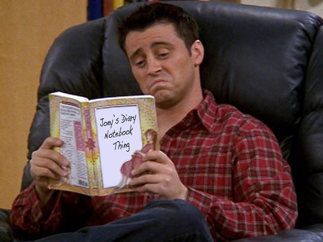 Which two books did Joey put in the freezer because he got too scared after reading them?