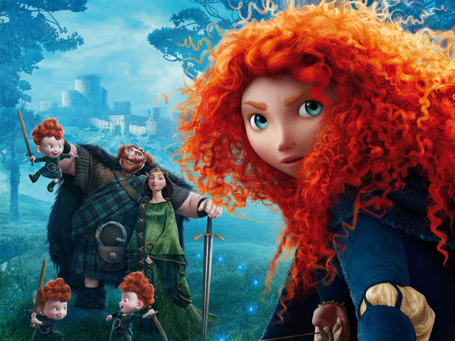 Which of the following Harry Potter actors does not voice a character in Brave?