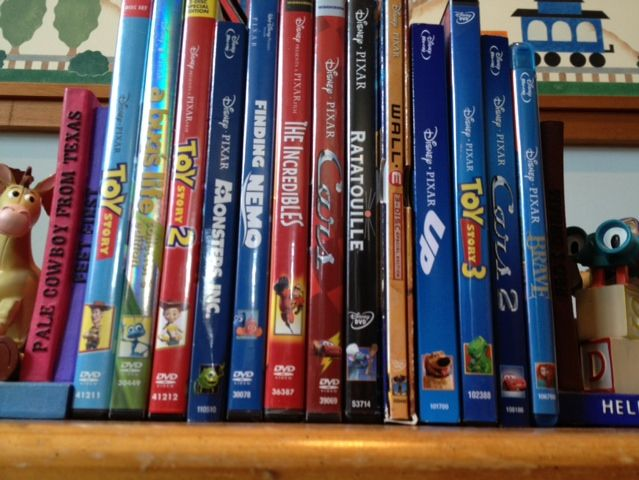 Which Pixar film is the best-selling DVD of all time?