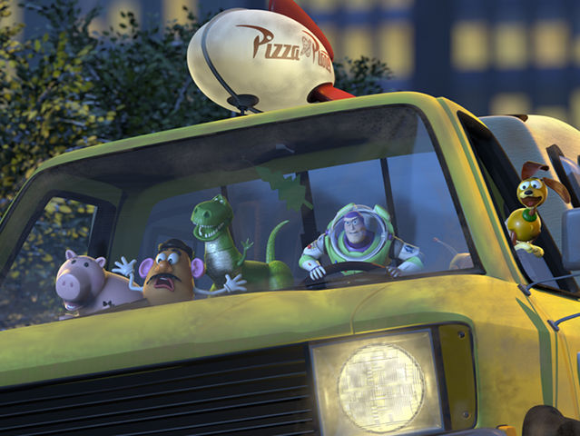What is the only Pixar movie not to include the Pizza Planet truck?