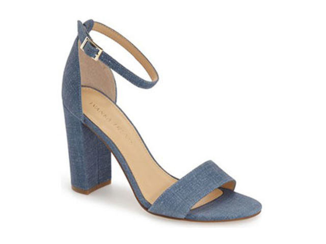 Ivanka Trump Klover Block Heel Ankle Strap Sandal, $80.96, available at Nordstrom.