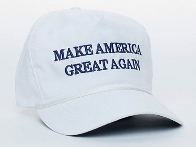 Official Donald Trump Make America Great Again Cap, $25, available at DonaldJTrump.com.