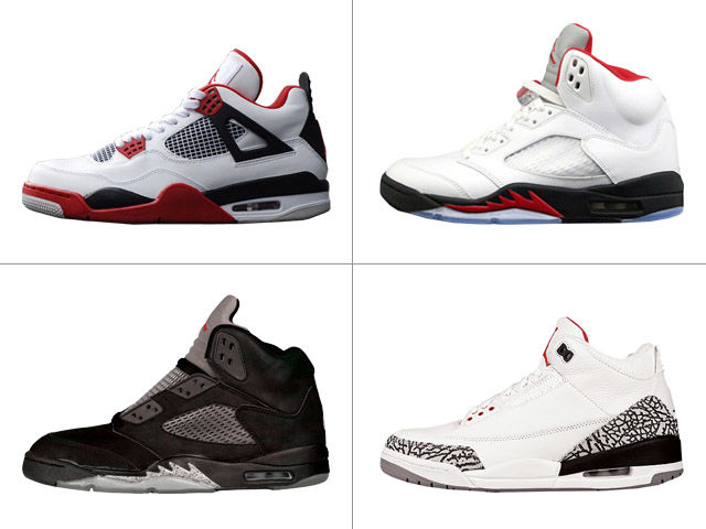 "Which Air Jordan was infamously pictured on Sports Illustrated's ""Your  Sneakers or Your Life"""