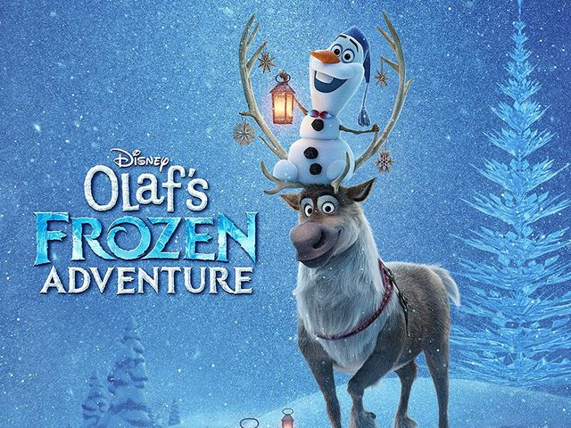 "It's ""Olaf's Frozen Adventure""!"