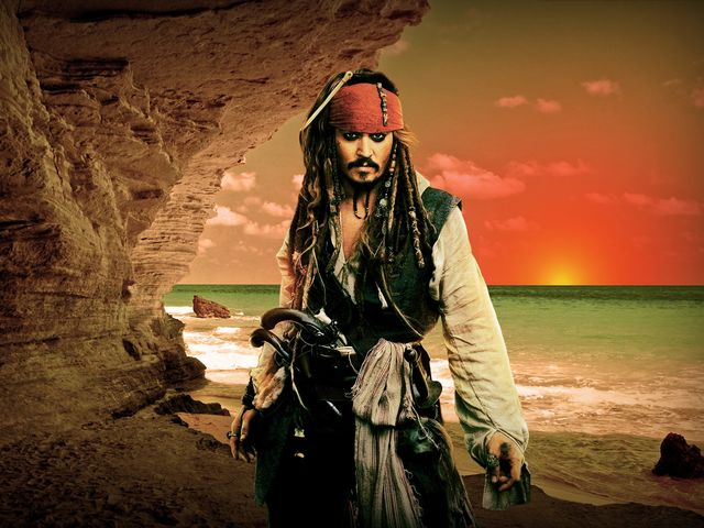 "True or False: Johnny Depp reprised his role as Captain Jack Sparrow in this year's ""Pirates of the Caribbean"" movie."
