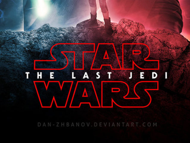 "The subtitle is ""The Last Jedi""!"