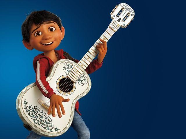 Miguel wanted to be a musician!
