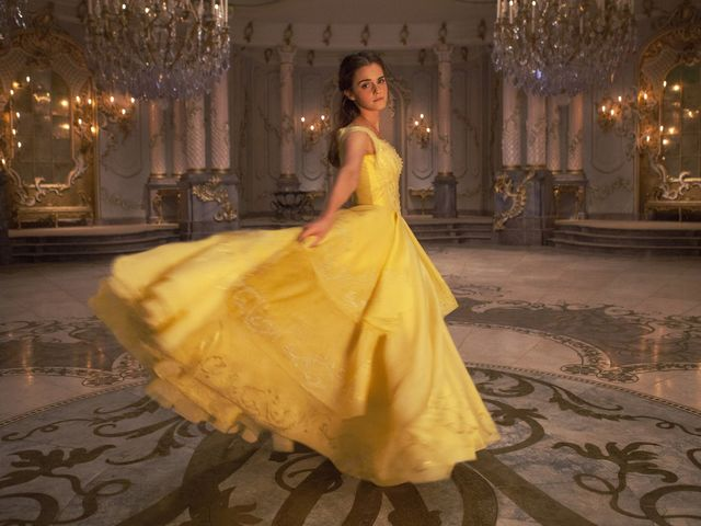"Emma Watson played Belle in this year's ""Beauty and the Beast"" movie!"