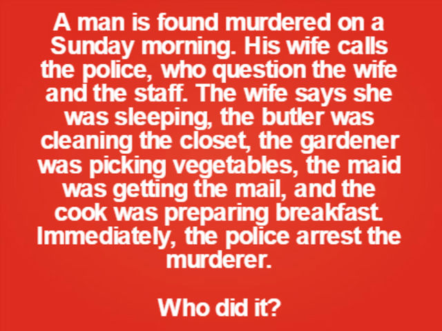 Can You Solve These Murder Mystery Riddles? - Bloody Disgusting