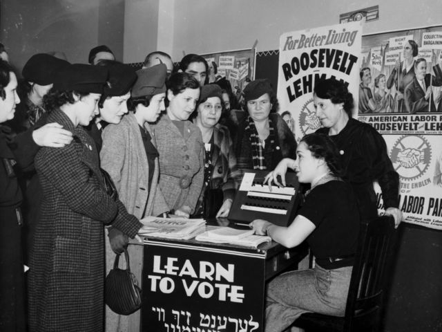 In what year were Women given the right to vote?