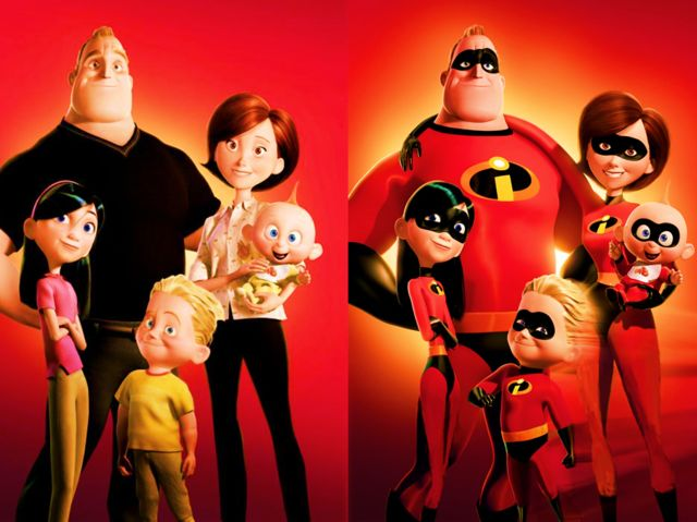 """The Incredibles"" was created by?"