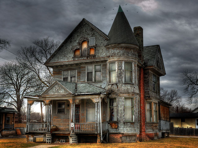 You and your friends have decided to spend a night in that old haunted house at the end of your street. What night is THE night?