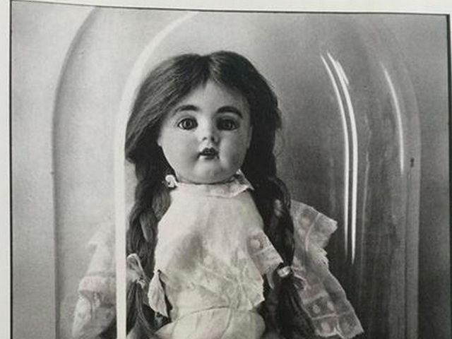 Best case scenario: you don't touch a n y t h i n g. But you especially avoid the doll on the mantelpiece. Its porcelain eyes seem to follow you, lingering.