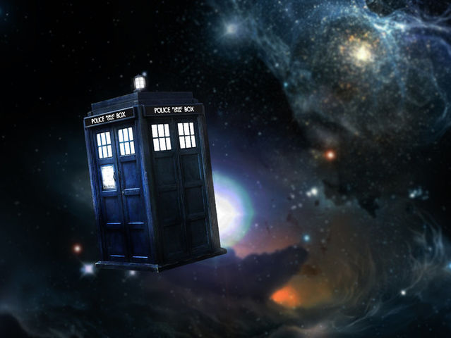 The Doctor stole his Type 40 TARDIS.