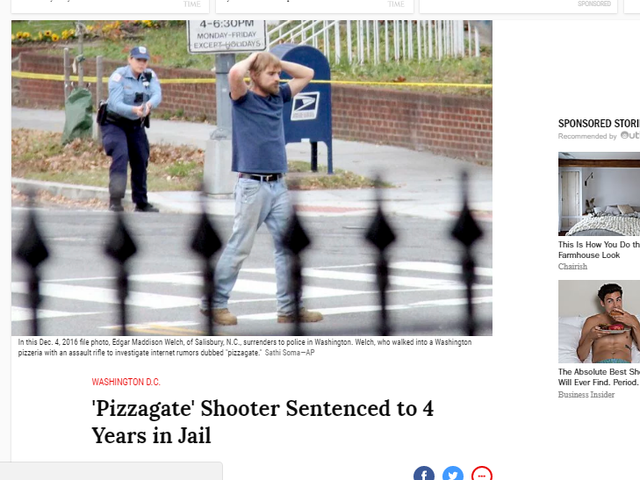 Was there really a Pizzagate shooter?