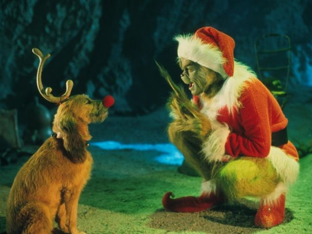 "Max the dog is the ONLY character who doesn't speak the words ""Grinch"" or ""Christmas""!"