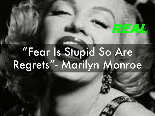 Marilyn Said This Quote In A Interview For W.J Wetherby In 1960
