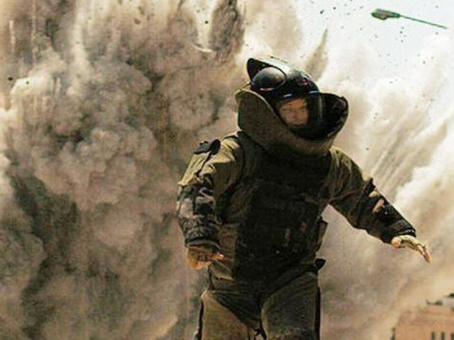 The Hurt Locker beat out Inglourious Basterds for Best Picture at the 2010 Oscars!