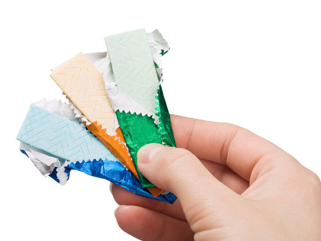 Chewing gum stays in your system for 7 years.