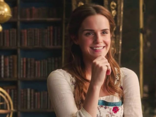 Nope! This is Emma Watson as Belle in Beauty and the Beast!