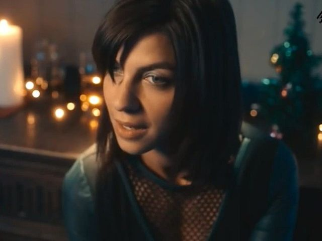 Nope! This is Natalia Tena, the actress who played Tonks, in the Black Mirror Christmas Special!