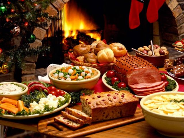 What's your idea of a perfect Christmas dinner?
