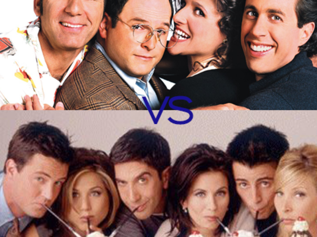 What's funnier, Friends or Seinfeld?