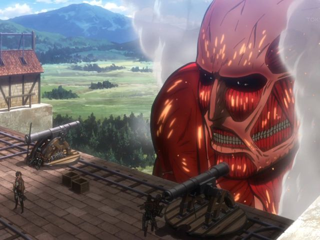 What is the only thing that protects the Colossal Titan?
