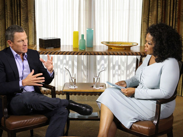 You score the tell-all interview with Lance Armstrong in which he admitted, for the first time to the world, to using banned substances such as EPO, cortisone, testosterone, human growth hormone and blood doping. How did you do it?