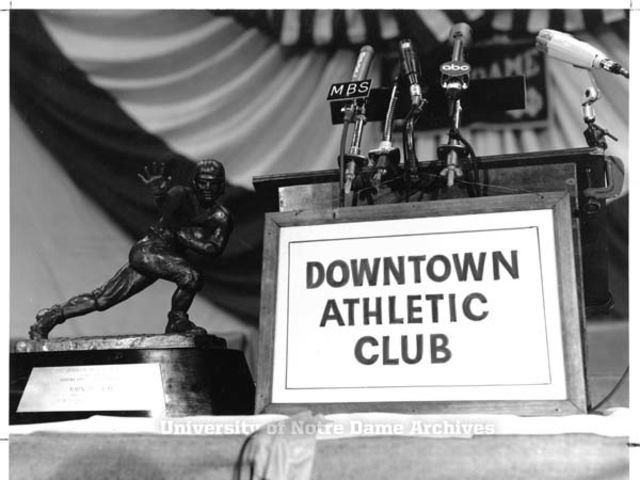 The Downtown Athletic Club was a social and sports club in New York.