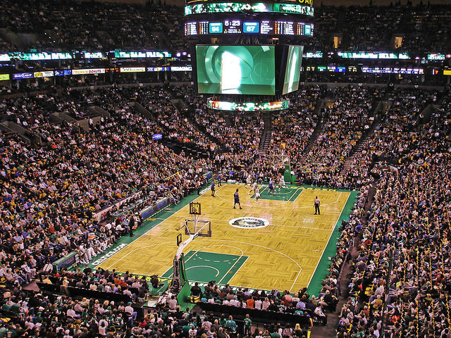 In what year did the team move into the TD Garden?