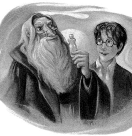 Image result for harry potter chapter illustration