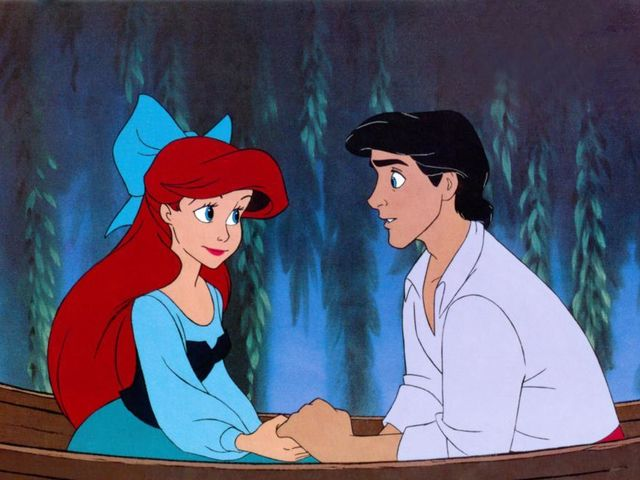 It was Prince Eric with the good hair!