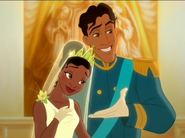 It was Prince Naveen! Where else are you gonna find an incredible jaw like that?