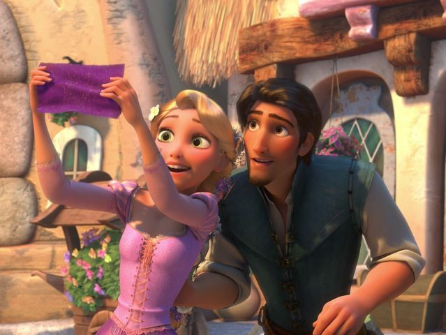 It was Eugene Fitzherbert,or Flynn Rider!