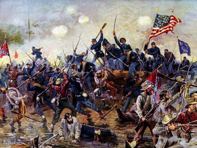 The American Civil War devastated the U.S. between...