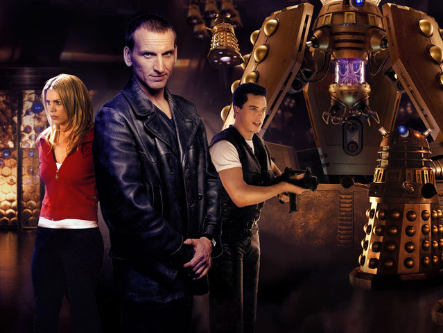 The Ninth Doctor plans to defeat the Daleks by transmitting a ______ wave.