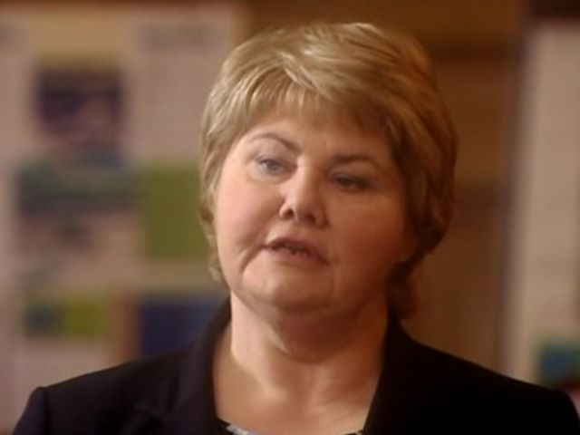 The next time the Doctor runs into Blon Fel-Fotch Passameer-Day Slitheen, she is the Mayor of Cardiff. What human name is she using?