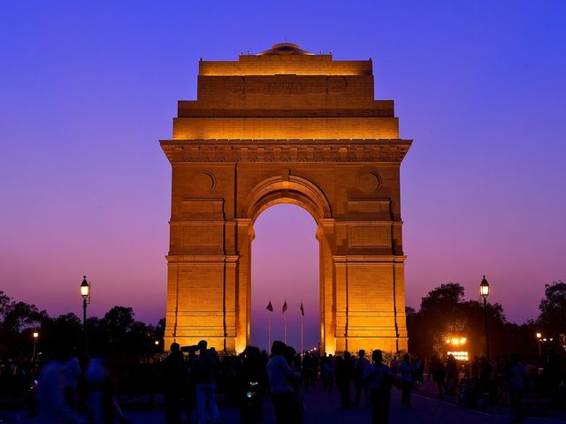 The capital of India is New Delhi!