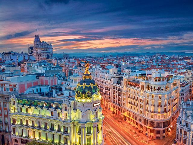 Name the capital of Spain.