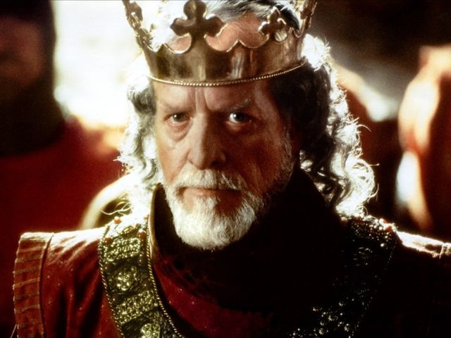 "Who was the reigning English monarch in ""Braveheart""?"
