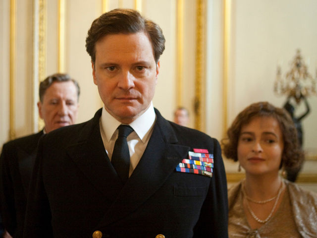 "Which king struggles with public speaking in ""The King's Speech""?"